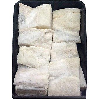 Trozos de bacalao salado sin espinas Bandeja de 500 g