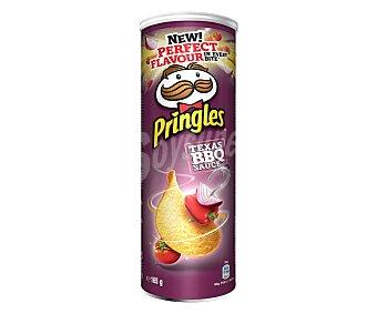 Pringles Patatas con forma de teja sabor barbacoa 165 g