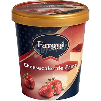 Farggi Helado cheesecake de fresa Tarrina 500 ml