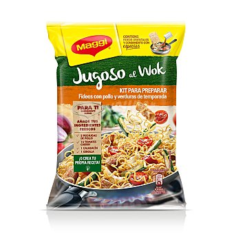 Maggi Fideos con pollo y verdura de temporada 185 g