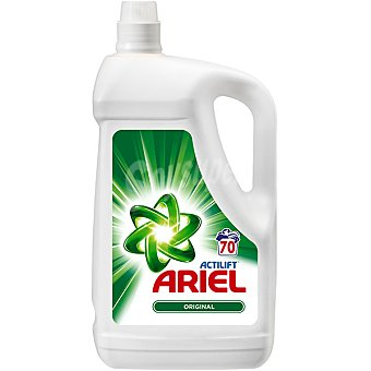Ariel Detergente máquina líquido con actilift botella 70 dosis 70 dosis