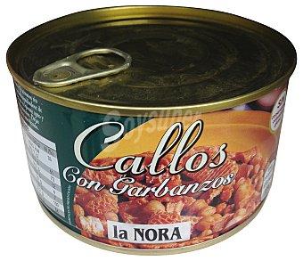 La Nora Callos con garbanzos (abre fácil) Bote 380 g
