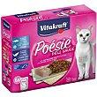 Alimento con abadejo para gato Pack 6 x 85 g Poésie Vitakraft