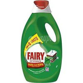 Fairy Detergente líquido Botella 19+2 dosis