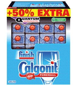 FINISH CALGONIT Detergente Lavavajillas quantum 20 ud
