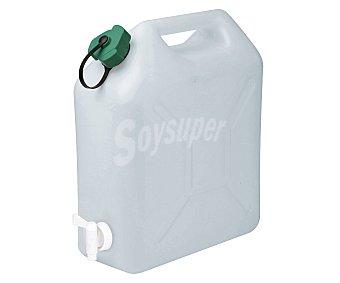 EDA Bidón para agua con tapón simple y grifo, 10 litros de capacidad 1 unidad