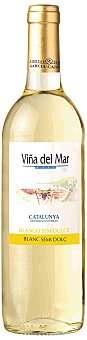 Viña del Mar Vino Blanco Semi-dulce Penedés Botella 75 cl