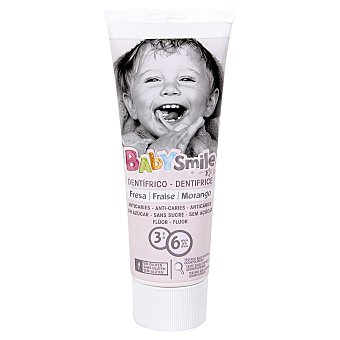 Baby Smile Pasta dentífrica infantil Tubo 75 ml