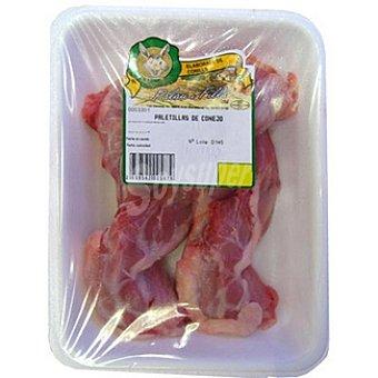 Palau Paletillas de conejo peso aproximado Bandeja 400 g