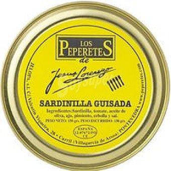 LOS PEPERETES Sardinilla Guisada Lata 400 g