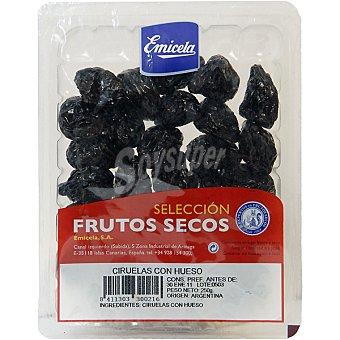 EMICELA Selección Ciruelas con hueso Bandeja 250 g