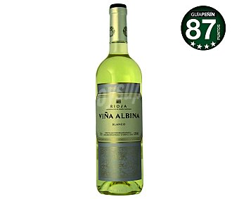 Viña Albina Vino blanco con DO Rioja Botella de 75 cl