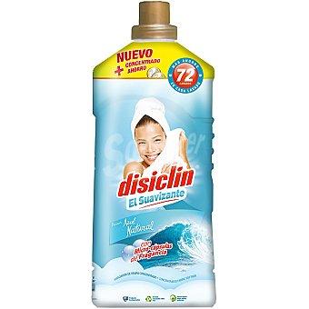 Disiclin Suavizante concentrado frescor Azul Natural con micro-capsulas de fragancia Botella 72 dosis