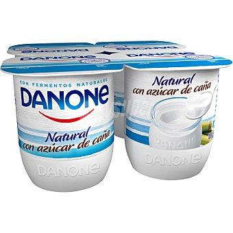 Danone yogur natural azucarado pack 4 unidades 120 g