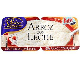 Kalise Arroz con Leche 2 unidades de 135 gramos