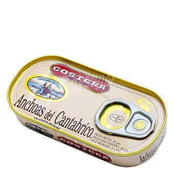 Costera Anchoas del Cantábrico en aceite de oliva 48 g