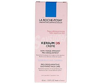 LA ROCHE POSAY KERIUM DS Tratamiento facial calmante y pro--descamente para pieles seboescamosas 40 ml