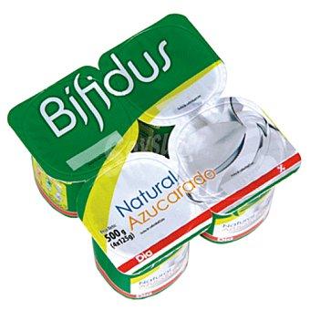 DIA DIA yogur bífidus natural azucarado  pack 4 unidades 125 g