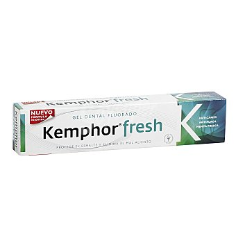 Kemphor Pasta dentífrica fresh gel fluorado Tubo 75 ml