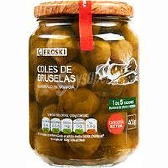 Eroski Coles de Bruselas medianas Frasco 400 g