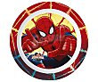 Plato infantil resistente con diseño Spiderman 1 unidad Marvel