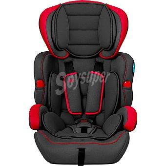 INNOVACIONES MS Travel Silla de auto en color gris y rojo grupo 1 - 2 - 3