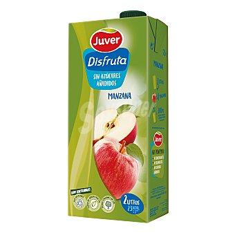Juver Disfruta Néctar de manzana, sin azúcares añadidos 2 l