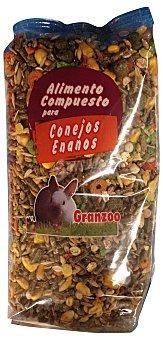 Granzoo Comida conejo enano Paquete 800 g
