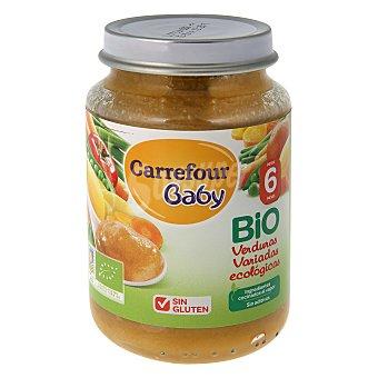Carrefour Bio Tarrito de verduras variadas 200 g