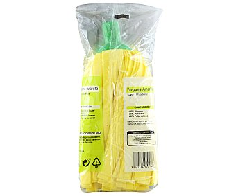 Productos Económicos Alcampo Fregona suave de color amarillo 1 unidad
