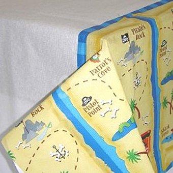 LIRAGRAM Mantel papel decorado Tesoro Pirata 120x180 cm