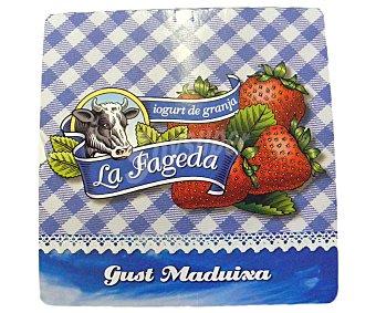 La Fageda Yogurt sabor fresa La Fageda (4 x 125g) 4 x 125g