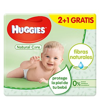 Huggies Toallitas Natural Care 168 toallitas