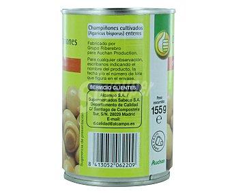 Productos Económicos Alcampo Champiñones enteros 155 gramos