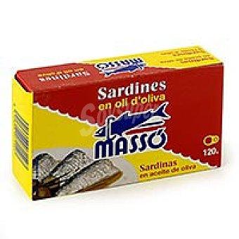 Massó Sardinas en aceite 120 g