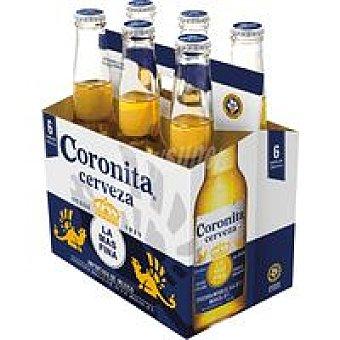 Coronita Cerveza mexicana Pack 6x35 cl