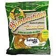 Snack de platanos fritos en aceite de oliva salado Sin Gluten Bolsa 90 g Bimbachitos de Canarias