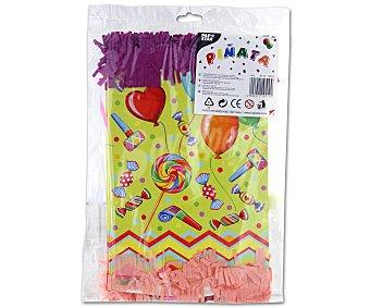 Papstar Piñata de 30x20x20 centímetros diseño fiesta 1 Unidad