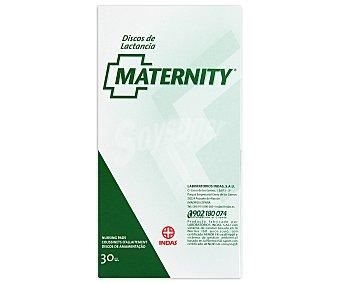 Maternity Discos de lactancia altamente absorbentes para evitar irritaciones de la piel del pecho y manchas en la ropa, 30 Unidades