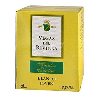Vegas del Rivilla Vino de mesa blanco 5 l
