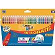 Rotulador de colores Kids 18+6 uds Bic