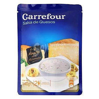 Carrefour Carrefour Salsa 4 Quesos 140 g