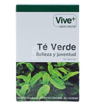 Viveplus Te verde capsulas 50 ud