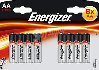 Energizer Pilas aa LR06 blister 8 UNI