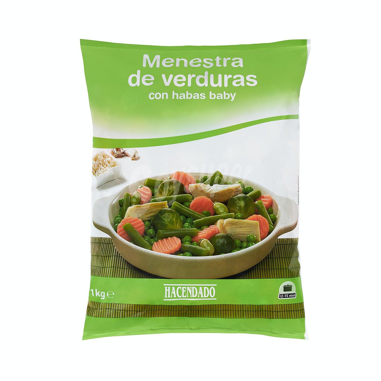 Mercadona menestra verduras