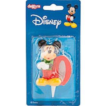Dekora Velas Familia Disney Nº0 1 unidad