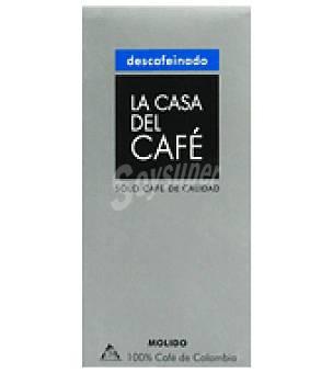 La casa del cafe Cafe Molido Descafeinado Colombia 250 g