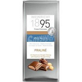 1895 Chocolate con leche extrafino relleno crema avellana 100g