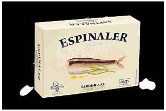 Espinaler Sardinilla en Aceite de Oliva Espinaler 20/25p 65 gr