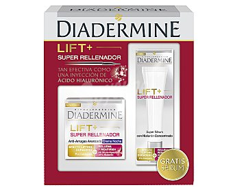 Diadermine Crema de noche anti-arrugas lift y super rellenador Frasco 50 ml